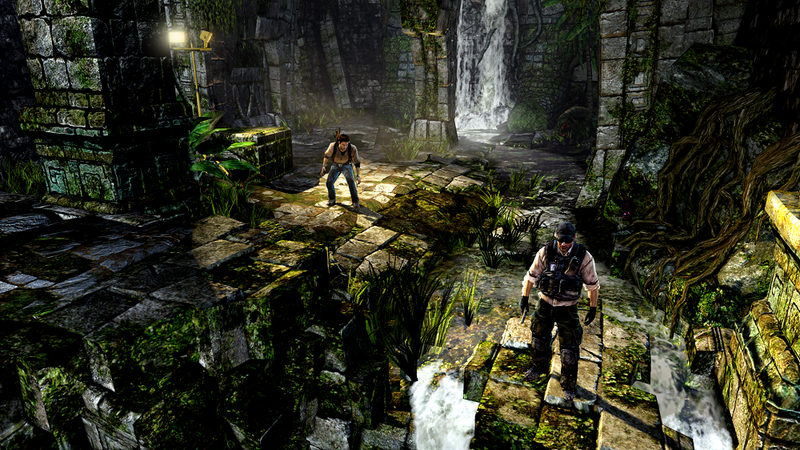 Illustration for article titled Uncharted Golden Abyss Delivers a Home Console Experience
