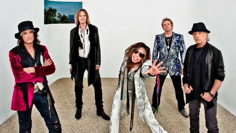 Illustration for article titled Aerosmith:Music From Another Dimension!
