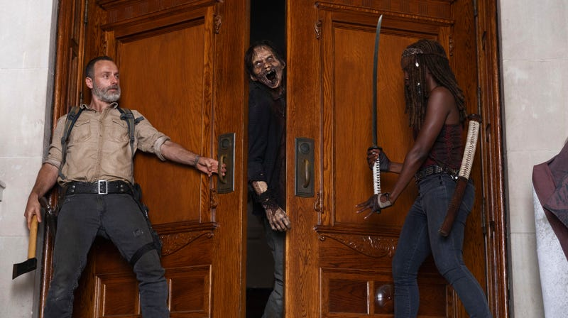 Illustration for article titled The Walking Dead just had its worst-rated premiere in series history