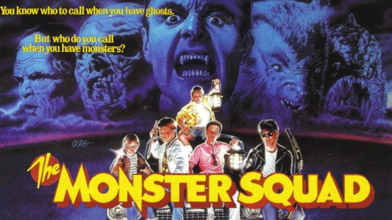 Illustration for article titled The Monster Squad gets its due when edited into a Suicide Squad-style trailer