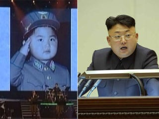 Illustration for article titled D'aww... Kim Jong-Un Used To Look So Cute