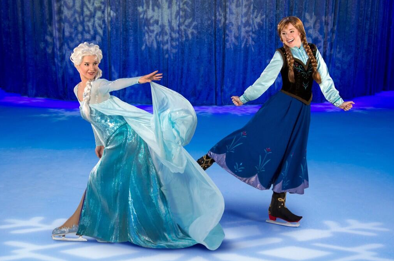 """Illustration for article titled Disney to somehow combine """"Frozen"""", """"Disney on Ice"""""""