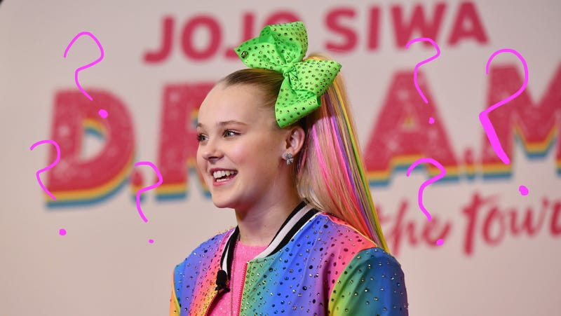 Illustration for article titled Does Jojo Siwa Get Ariana Grande-Level Ponytail Headaches?