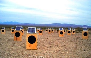 Illustration for article titled Sun Boxes, For the Post-Apocalyptic Audiophile