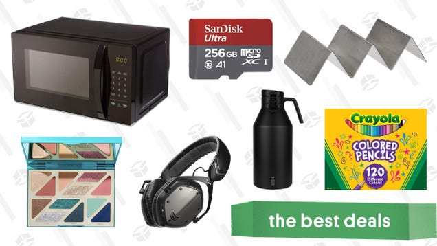 Monday's Best Deals: MicroSD Cards, Miir Drinkware, Crayola, and