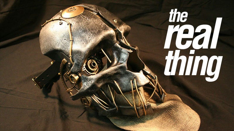 Illustration for article titled An Exquisite Replica Of Corvo's Mask From Dishonored