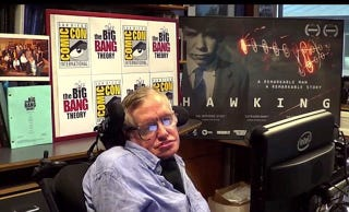 Illustration for article titled Hawking surprise at Comic-Con