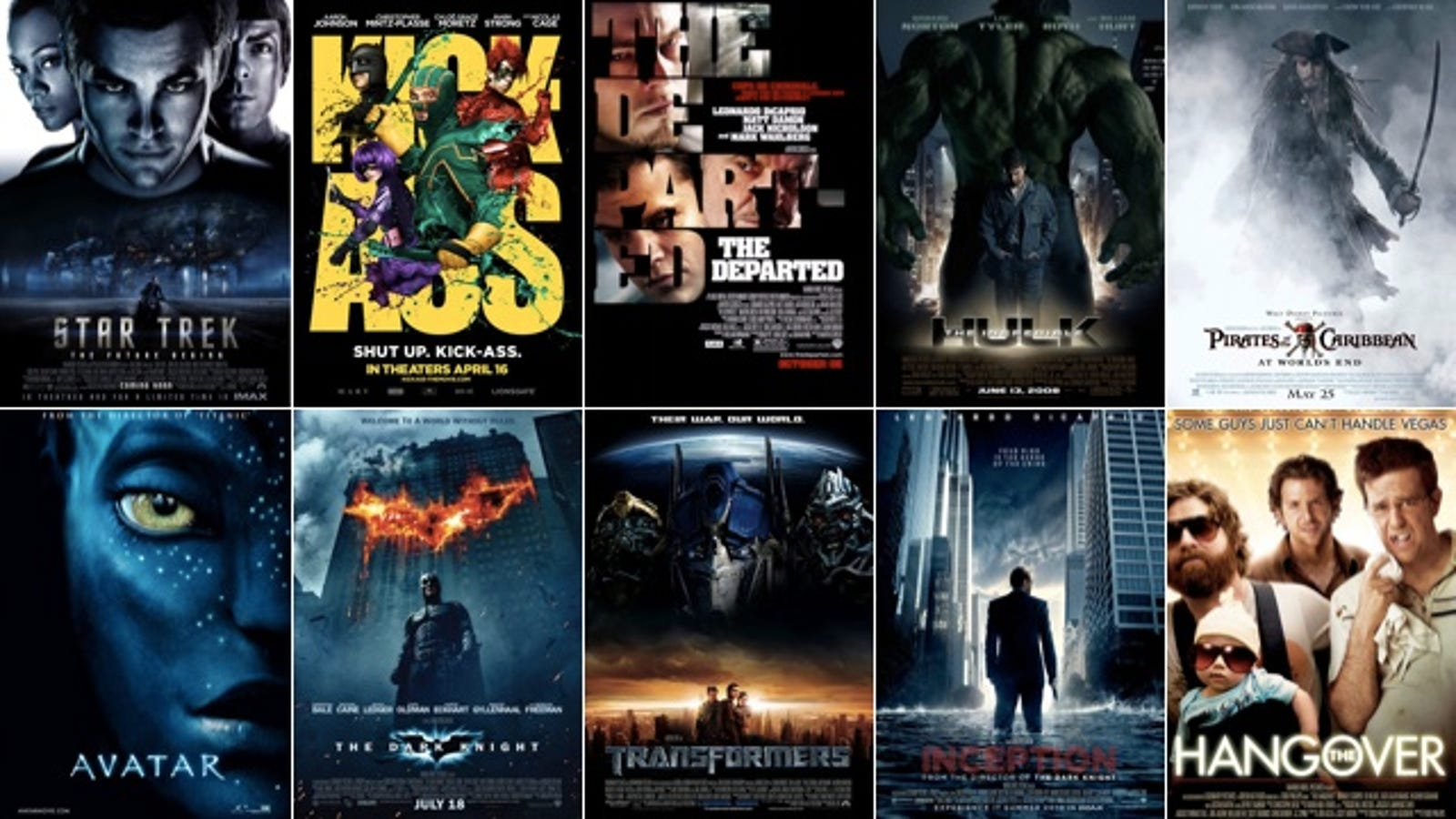 top 10 pirated movies this week