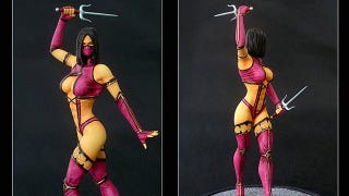 Illustration for article titled This Mortal Kombat Statue Isn't Afraid to Show a Little Skin