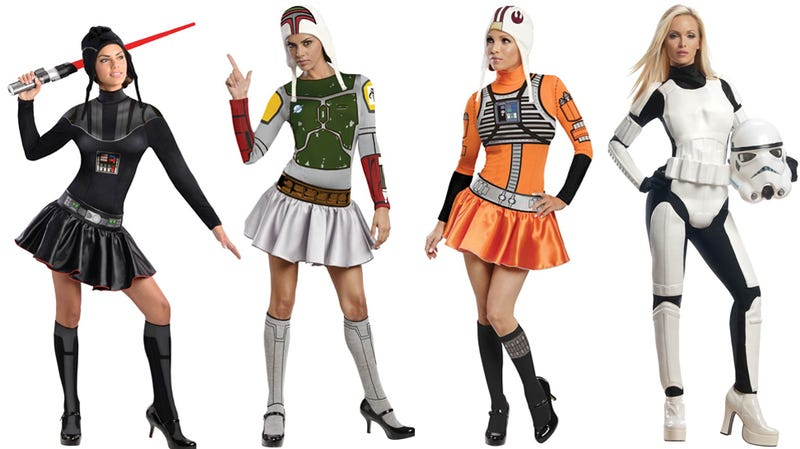 Sexy starwars costumes