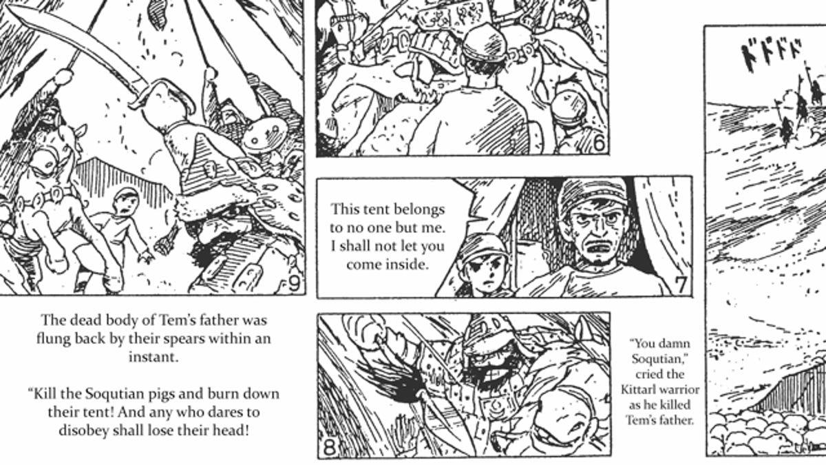Read Hayao Miyazaki first printed manga, 1969's People of