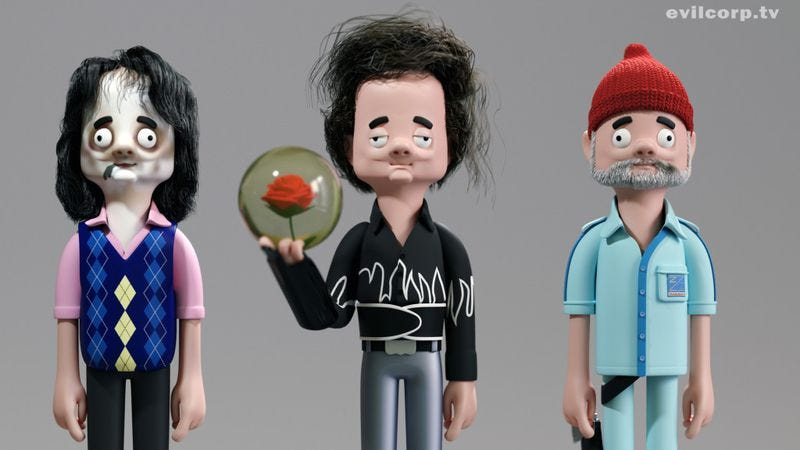 Illustration for article titled Here are some gorgeous, perfect, fake vinyl Bill Murray figures that you'll never own