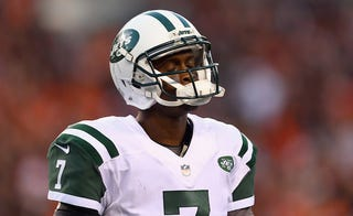 Illustration for article titled Jets Look At QB Depth Chart, Sigh Deeply, Name Geno Smith Starter