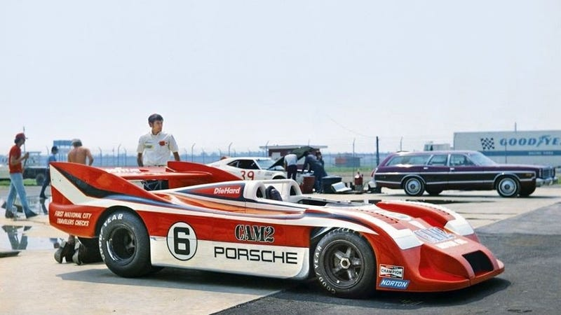 Illustration for article titled Now That Porsche's Retired LMP1 Car Owns TheNürburgring Lap Record, It Needs to Go to Talladega