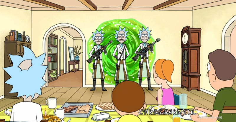 """Illustration for article titled Rick and Morty Recap - """"Close Rick-Counters of the Rick Kind"""""""