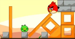 Illustration for article titled Only One Man Can Bring Angry Birds And Pigs Together