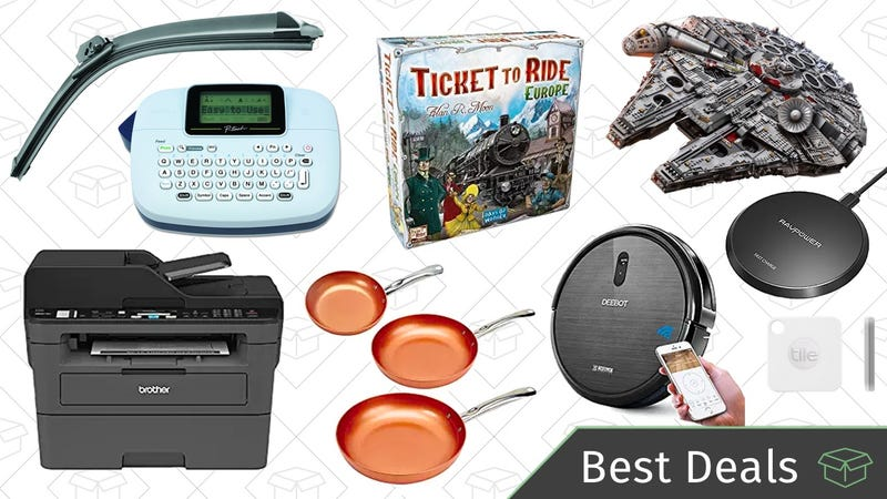 Illustration for article titled Monday's Best Deals: Board Games, Brother Printer, Copper Chef Cookware, and More