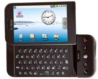 Illustration for article titled Rumor: HTC Android Phone With Slide-Out QWERTY Keypad Launching With T-Mobile?