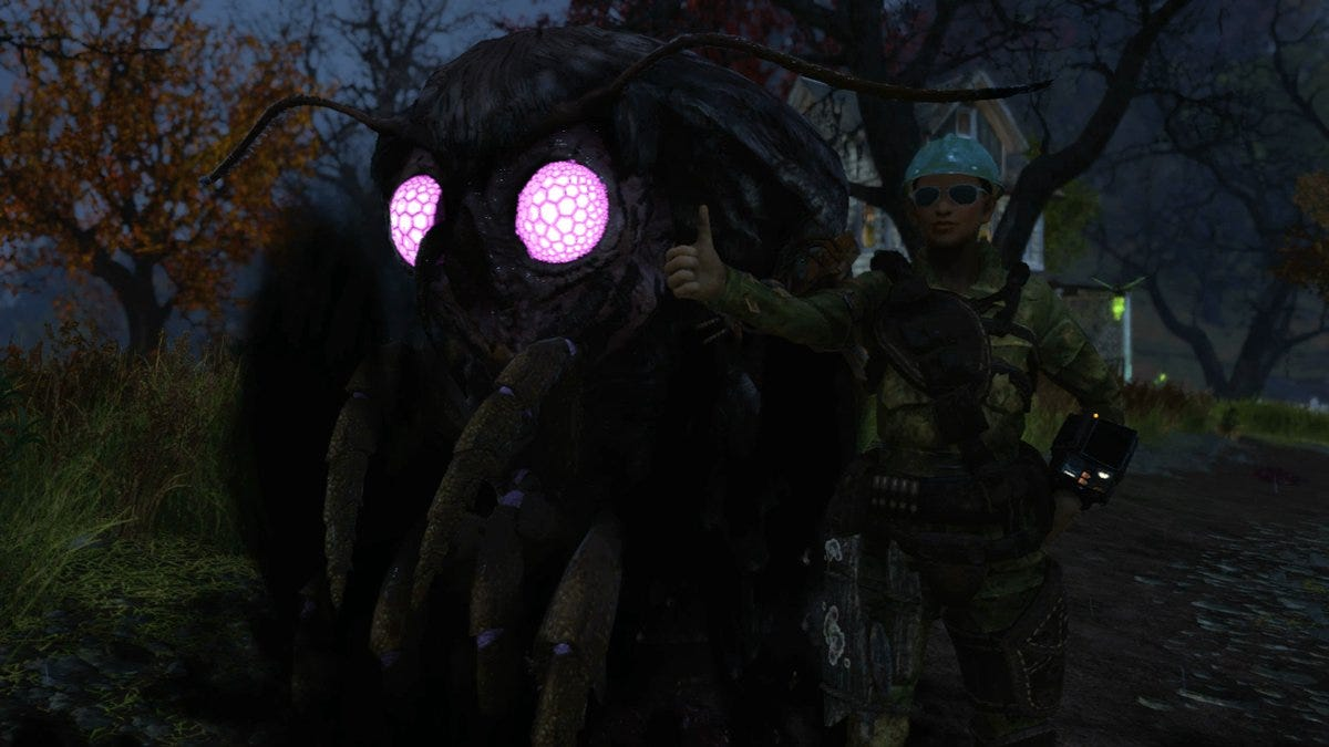How To Find Fallout 76's Mothman
