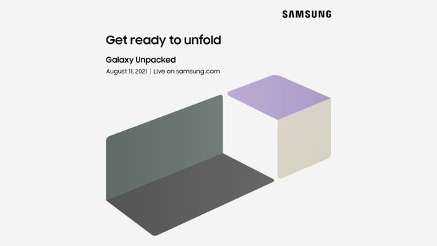 Samsung Will Show Off Its New Foldables at Unpacked Event Aug. 11