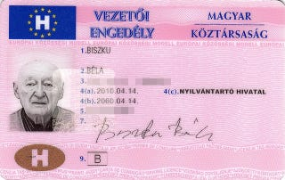 Illustration for article titled Biszku Béla jogosítványa átvehető az Indexnél