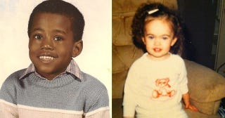 Illustration for article titled Private Celebrity Photo Face-Off: Baby Megan Fox Vs. Elementary School Kanye