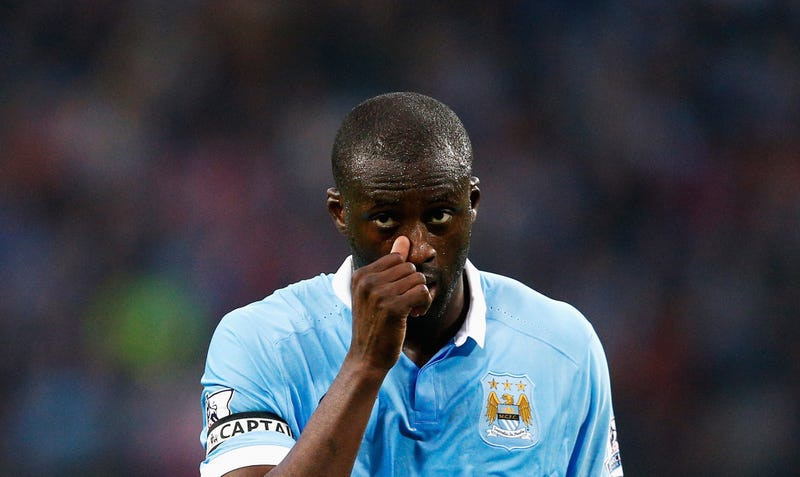 Illustration for article titled Yaya Touré Is Way Too Upset About Not Winning African Player Of The Year Award