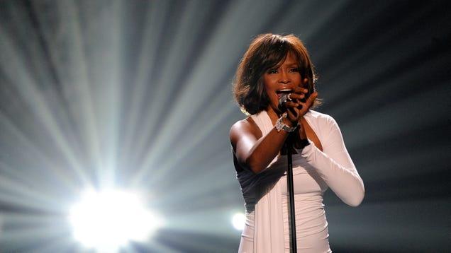 """Stars align as Whitney Houston's 1990 cover of Steve Winwood's """"Higher Love"""" resurfaces"""