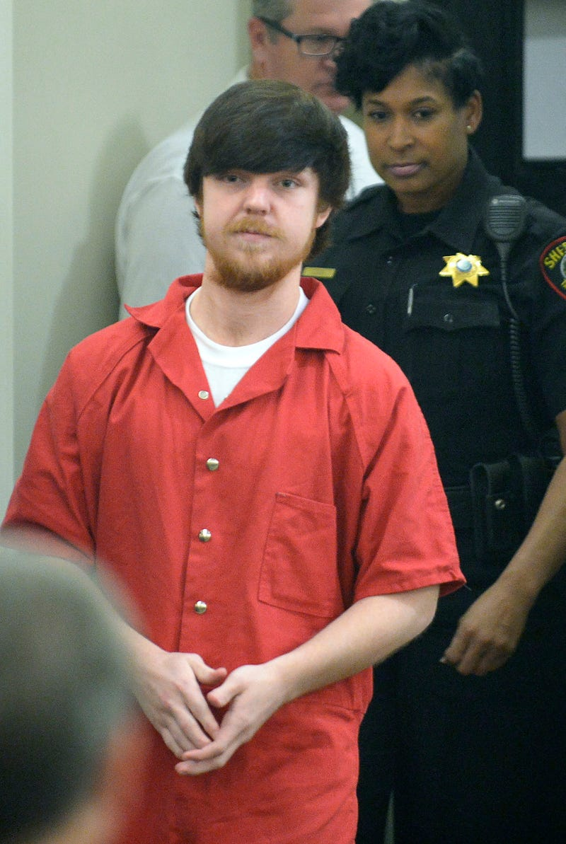 Ethan Couch is brought into Tarrant County, Texas, Judge Wayne Salvant's courtroom for Couch's adult-court hearing April 13, 2016, in Fort Worth, Texas. Max Faulkner/Fort Worth Star-Telegram/TNS via Getty Images