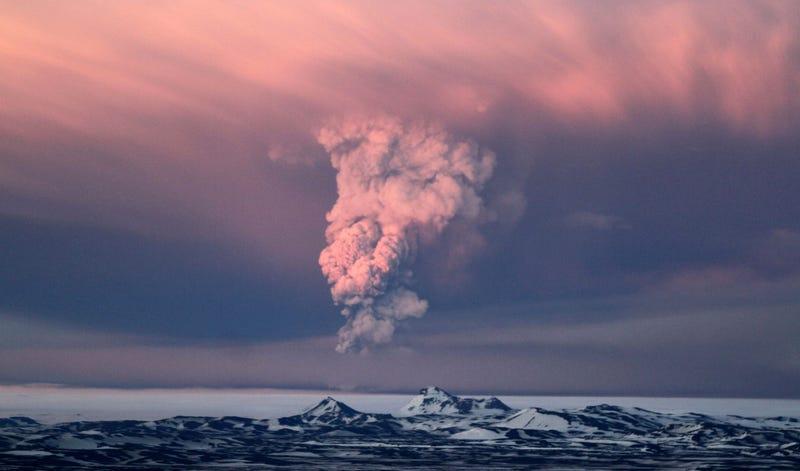 Erupción. AP