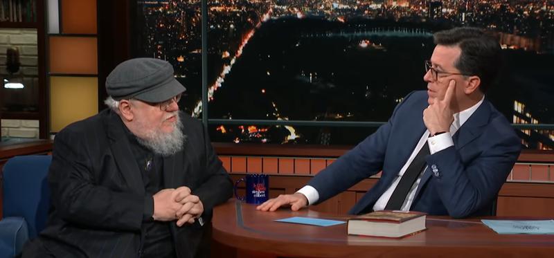 George R.R. Martin, Stephen Colbert