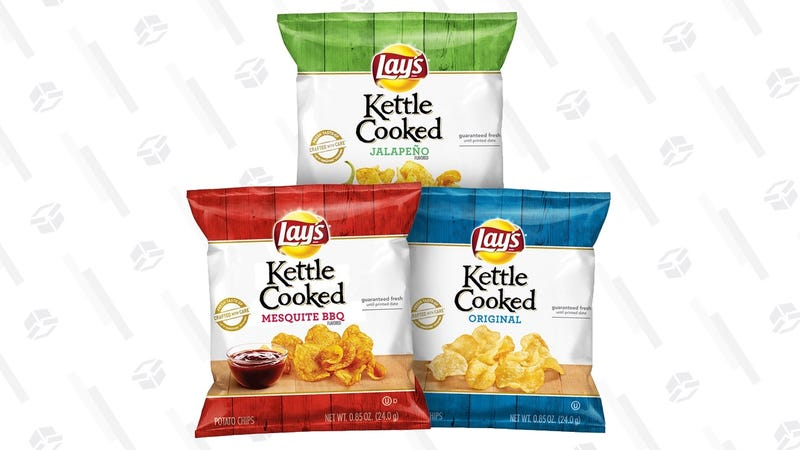 Lay's Kettle Cooked Potato Chips  | $10 | Amazon