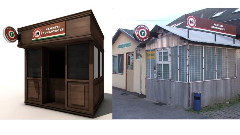 Illustration for article titled Debreceni trafikok. Fedezz fel 7 apró különbséget a két kép között!