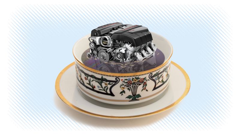 Illustration for article titled Quick Question: Which Is Engine Sauce, Oil or Gas?