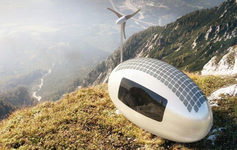 Illustration for article titled Estas cápsulas ecológicas permiten vivir en cualquier parte del mundo