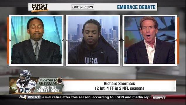 Richard Sherman Interview Espn