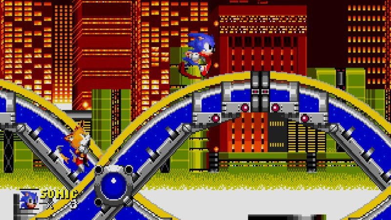 Sonic The Hedgehog 2 (Screenshot: Sega)