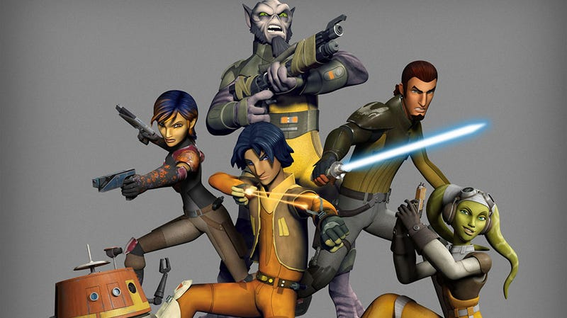 Illustration for article titled What do people think of Star Wars Rebels?