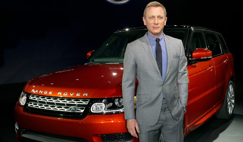 James Bond Reportedly Made $1 Million To Unveil The Range Rover Sport And Didn't Say One Word (UPDATED!)