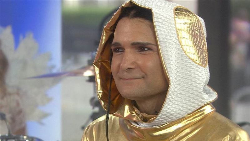 Illustration for article titled Corey Feldman returns to Today for another test of America's character