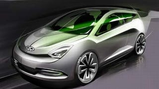 Illustration for article titled Shooting for Sport: Chery Wagon Concept Set for Shanghai Debut