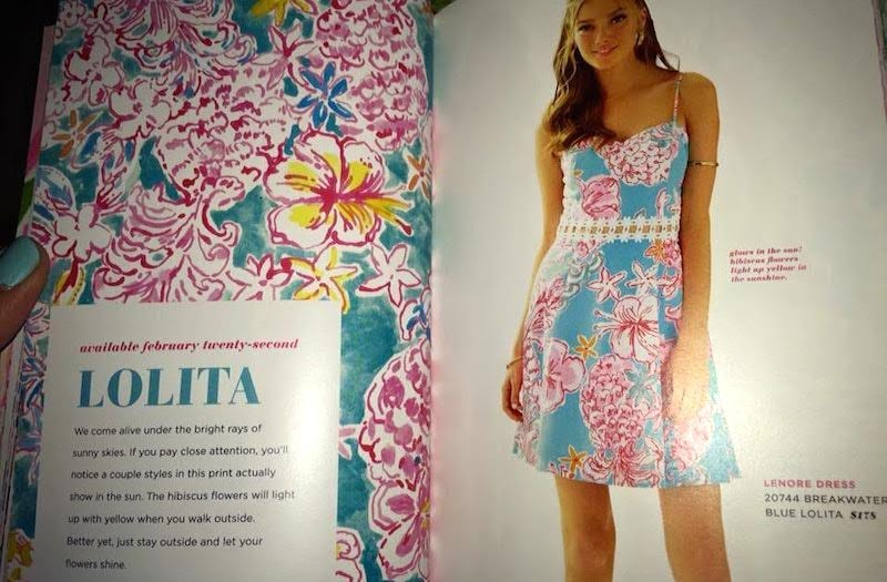 Illustration for article titled Adorable and Evocative: Lilly Pulitzer Has a New Spring Pattern Called 'Lolita'