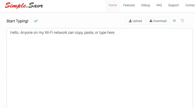 Simple.Savr Makes It Incredibly Easy to Share Files on the Same WiFi Network