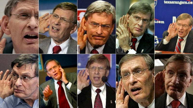 Illustration for article titled Bud Selig, The Commissioner Who Didn't Matter