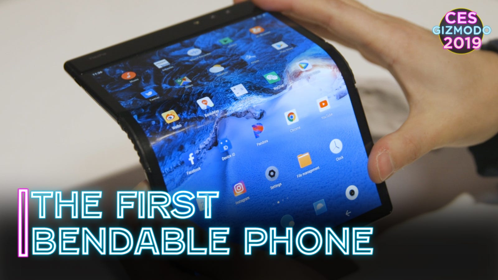 QnA VBage The First Bendable Phone Is an Exciting Piece of Junk