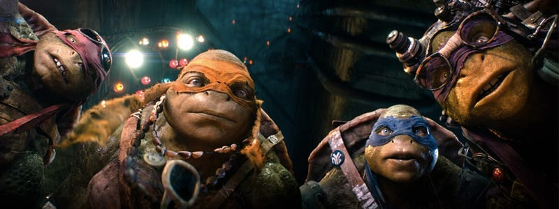 Illustration for article titled TMNT Movie Makers Reveal Ninja Turtle Easter Eggs You Should Look For