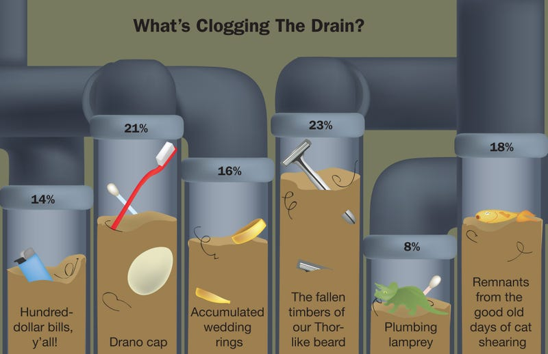 Illustration for article titled What's Clogging The Drain?