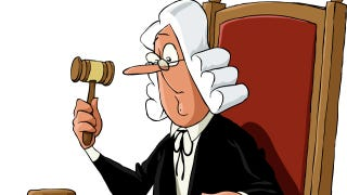 Illustration for article titled Someone Is Peeing in British Judges' Food