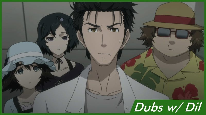 Illustration for article titled Dubs w/ Dil: Steins;Gate