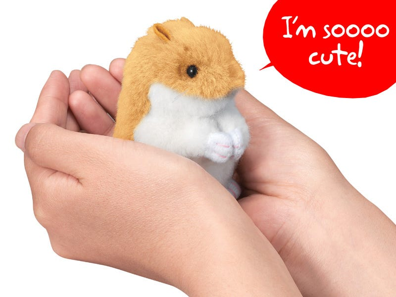 Illustration for article titled Sega Hamster Is as Cute as the Real Thing, and It Doesn't Poop